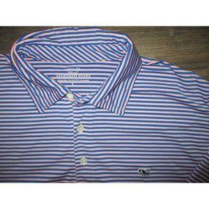 Vineyard Vines LARGE Performance Polo shirt